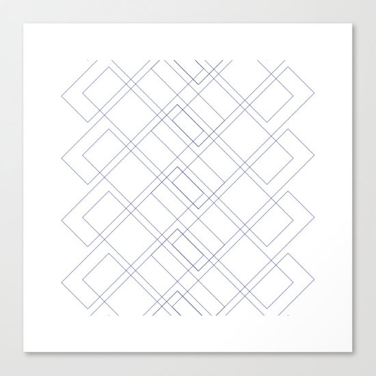 #171 Seasonal migration – Geometry Daily Canvas Print