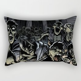 Zombie attack Rectangular Pillow