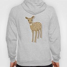 Autumn Deer Illustration Hoody