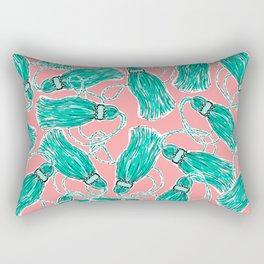More Tassels Rectangular Pillow