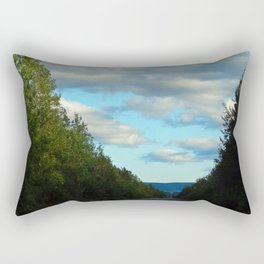 Mountain Road Rectangular Pillow