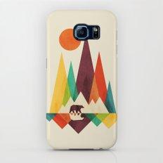 Bear In Whimsical Wild Galaxy S8 Slim Case