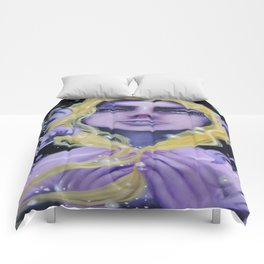Deadly Nightshade Comforters