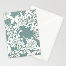 Papercut snowdrops Stationery Cards