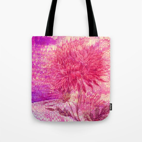 pink Chrysanthemum Tote Bag