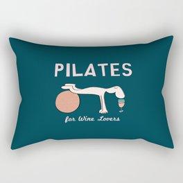 Pilates for Wine Lovers Rectangular Pillow