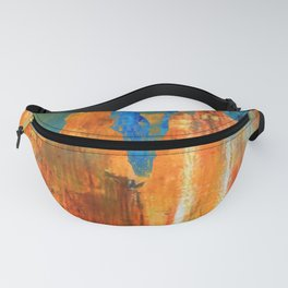 Southwestern Abstract Landscape Bryce Canyon Hoodoos Fanny Pack