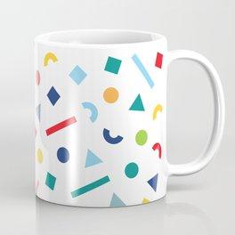geometric funfetti Coffee Mug