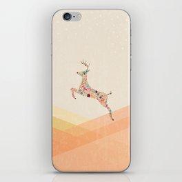 Christmas reindeer 5 iPhone Skin