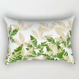PALM LEAF FERN LEAF TROPICAL Rectangular Pillow