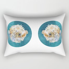 balloonfish Rectangular Pillow
