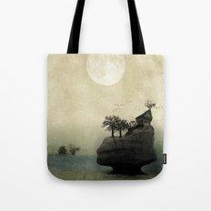 Far Away Fantasy Landscape Tote Bag