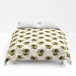 Vintage Scientific Bee Comforters