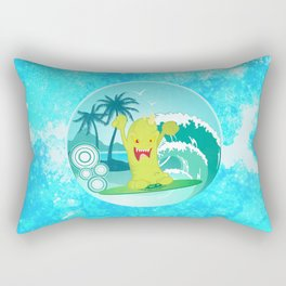 Summer Skim Rectangular Pillow