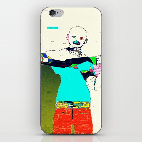 School's Out iPhone & iPod Skin