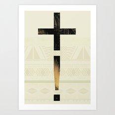 Aztec+ ! Art Print
