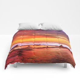 Evening flame Comforters