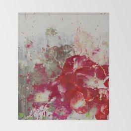 Petunias Throw Blanket