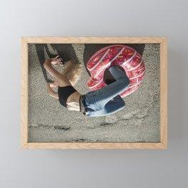 Gravity Framed Mini Art Print