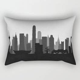 City Skylines: Chengdu Rectangular Pillow