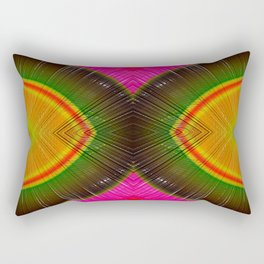 Rainbow In 3D #Society6 #Buyart #colors Rectangular Pillow