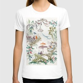Enchanted Forest Chinoiserie T-shirt