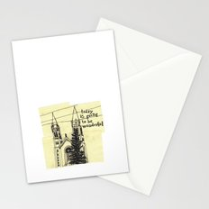 today is going to be wonderful Stationery Cards