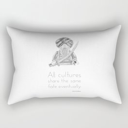 Sikh - All Cultures Share the Same Fate Eventually Rectangular Pillow
