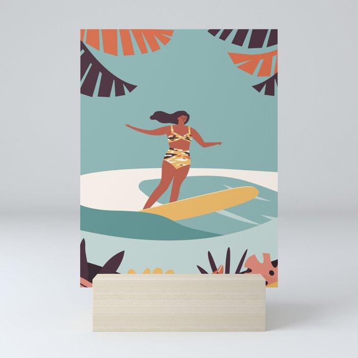 Blue Hawaii Mini Art Print