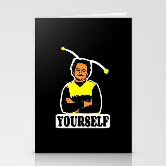 BEE YOURSELF  |  JOHN BELUSHI Stationery Cards