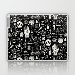 Curiosities: Bone Black Laptop & iPad Skin