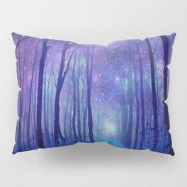 Fantasy Path Purple Blue Pillow Sham