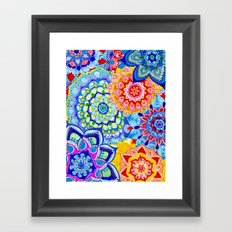 Summer Snowflakes  Framed Art Print