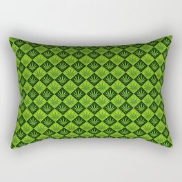 weed pattern Rectangular Pillow