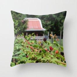 Sherwood Berries Throw Pillow