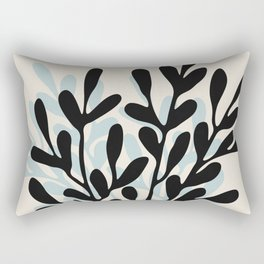 Still Life with Vase and Tree Branches Rectangular Pillow