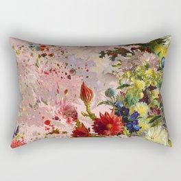 oil flower Rectangular Pillow
