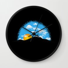 Where Is Home Wall Clock