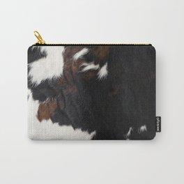 Cowhide Farmhouse Decor Carry-All Pouch