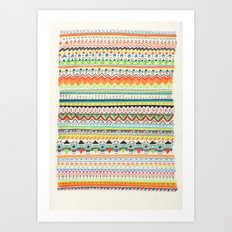 Pattern No.3 Art Print