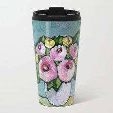 Retro Bouquet Travel Mug