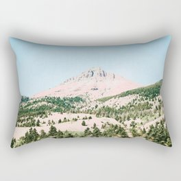 Happy Mountain #society6 #decor #buyart Rectangular Pillow