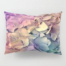 Soft Multi Color Hydrangea Pillow Sham
