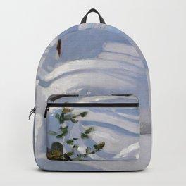 Sunshine on Snow - Akseli Gallen-Kallela  Backpack