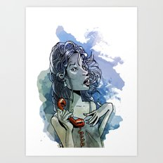 Call Muchacha  Art Print