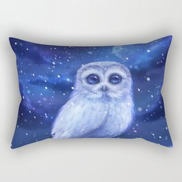 Winter owl Rectangular Pillow