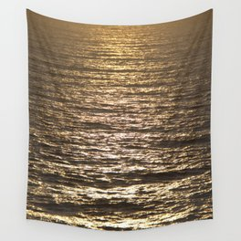 Sun ray on the sea Wall Tapestry
