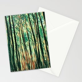 tree of paint Stationery Cards