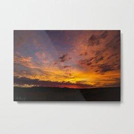 Robb Road Sunrise Metal Print