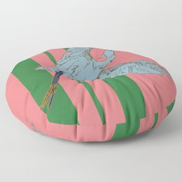 Egret for Dwell Hotel Floor Pillow